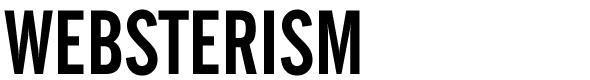 Websterism