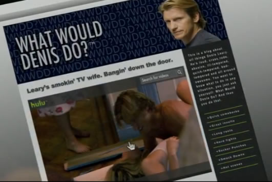 Denis Leary and Hulu have an inside joke.